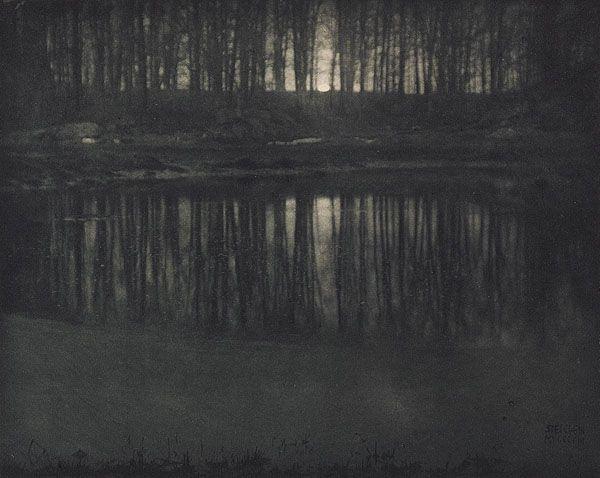 Edward Steichen_Moonlight: The Pond Steichen, Edward, b.1879-1973 Camera Work XIV, 1906 16.2 x 20.3 cm Photogravure