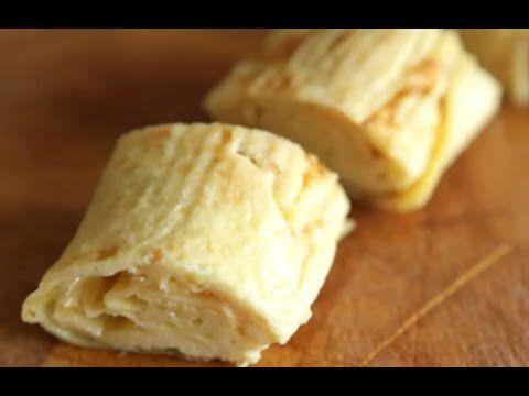 Comment faire une omelette Japonaise - Recette de l'omelette - YouTube