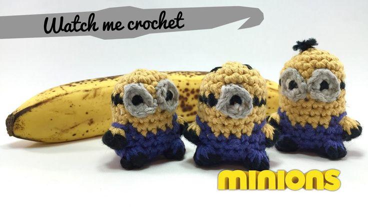 Stewart the Minion - Watch me Crochet