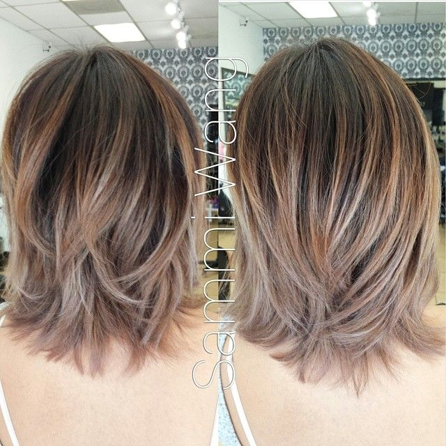 766 best images about hair on pinterest rene russo bobs for Ombre mittellang