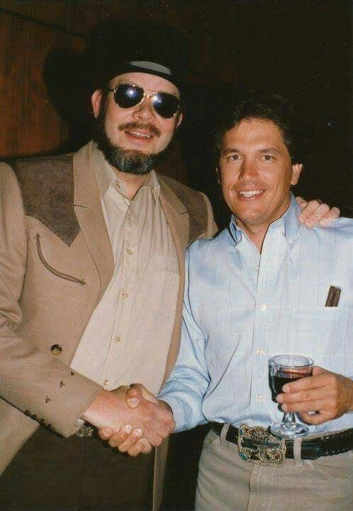 Bocephus with Country Music Artist George Strait