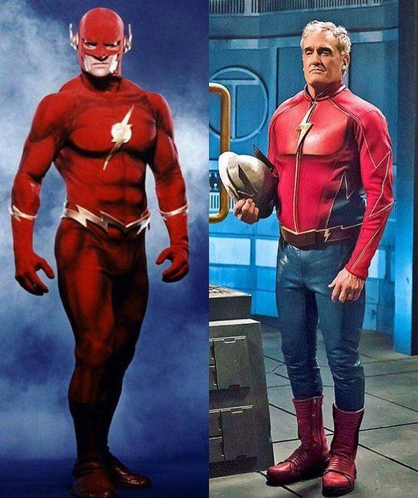 John Wesley Shipp (1990s Flash) & 2016s, Jay Garrick, Earth-3s Flash
