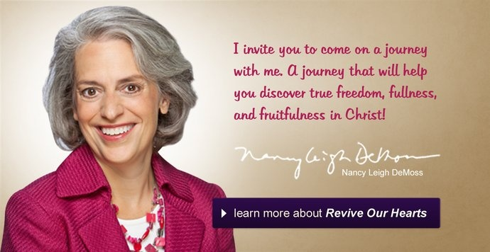 Nancy DeMoss - most highly recommended for answers, encouragement, inspiration for Christian woman. ♥ Thankfully.
