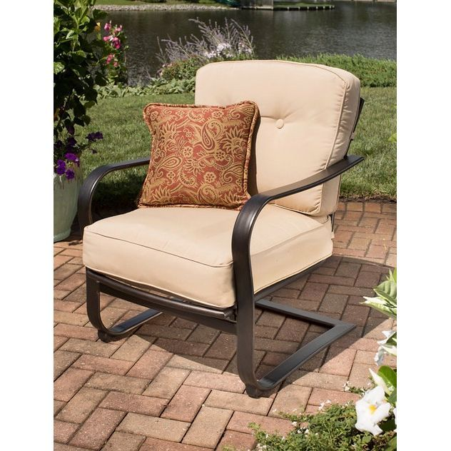 Agio C Spring Chair. Patio ChairsRocking Chair
