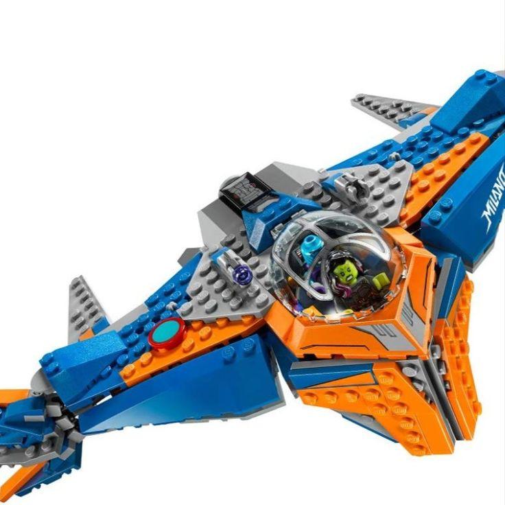 LEGO Marvel Super Heroes The Milano vs. The Abilisk 76081