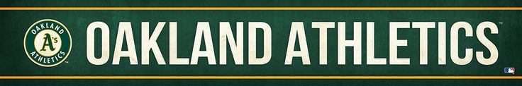 Oakland Athletics Street Banner $19.99