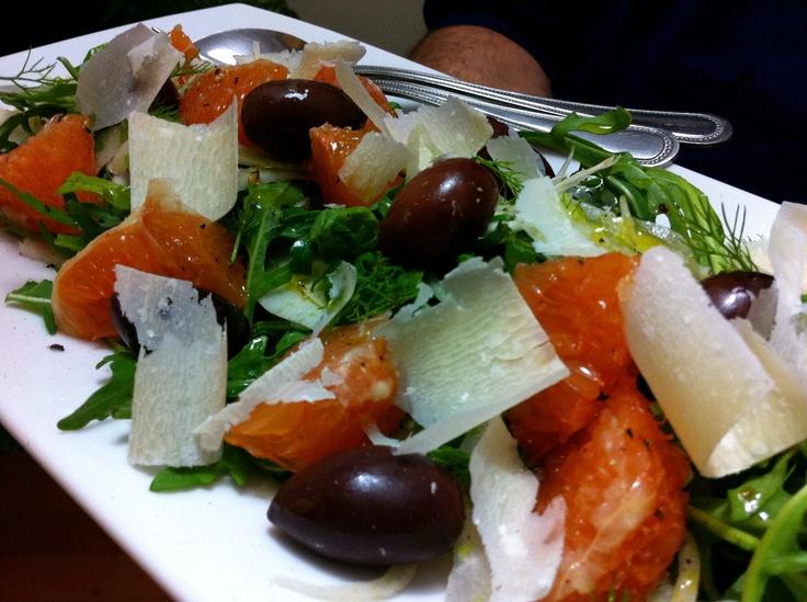 Blood Orange & Fennel Salad | The Gnocchi Situation