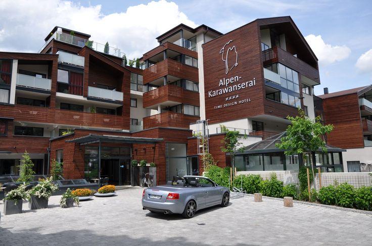 Wellnesshotel Alpen-Karawanserai im Sommer in Saalbach Hinterglemm Österreich