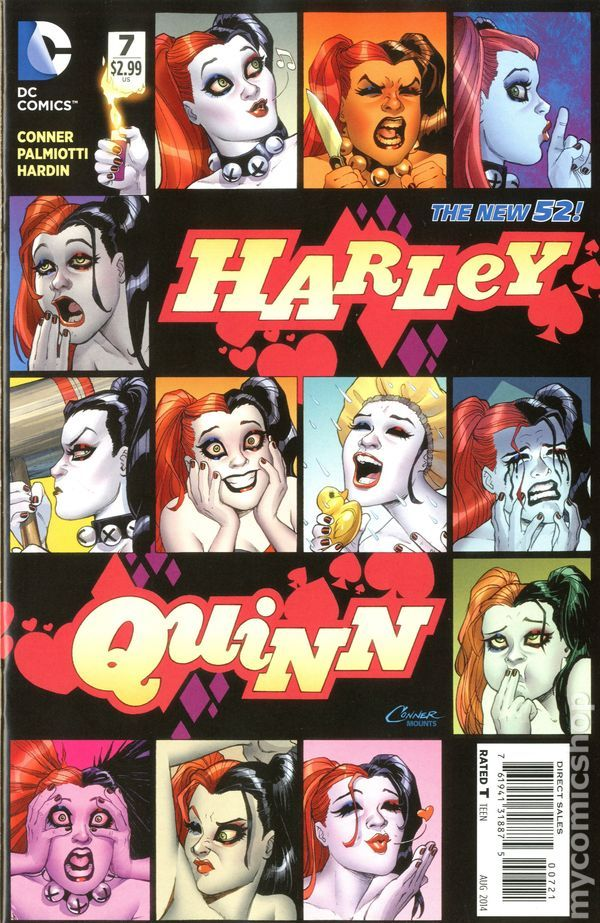 Drawing Harley Quinn Comic