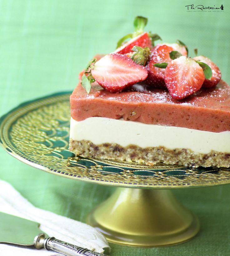 The Rawtarian: Raw cheesecake recipe