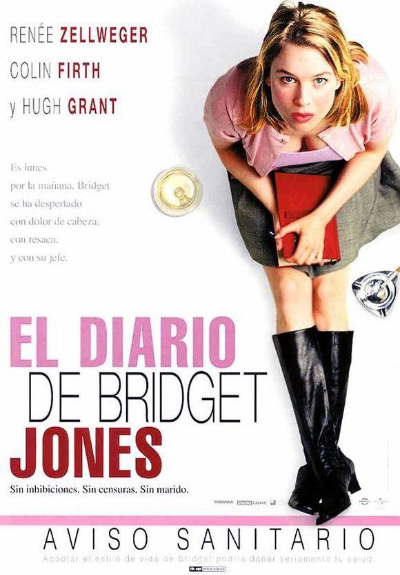 El diario de Bridget Jones (2001) Rei Unido. Dir: Sharon Maguire. Comedia. Romance - DVD CINE 227