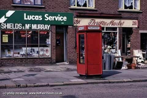 Woodstock Road, Belfast.