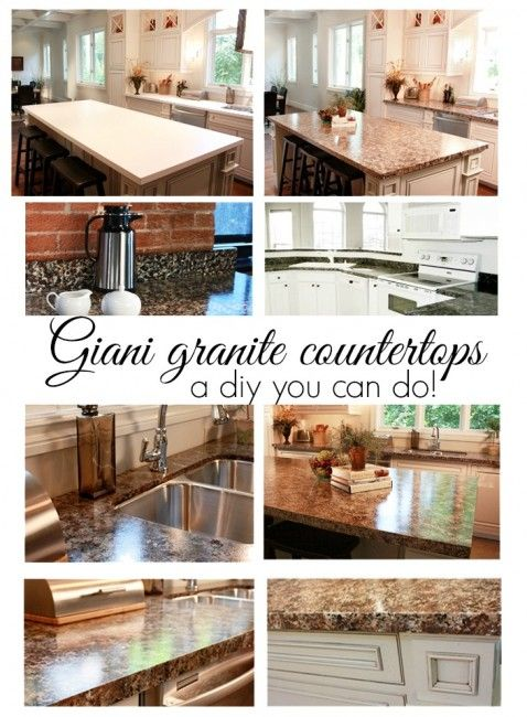 How To Make DIY Faux Finish Granite Countertops Step By Step Tutorial  Instructions