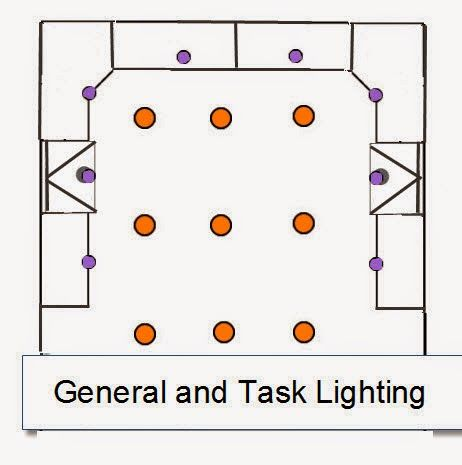 General+and+Task+Recessed+Lightin+Layout
