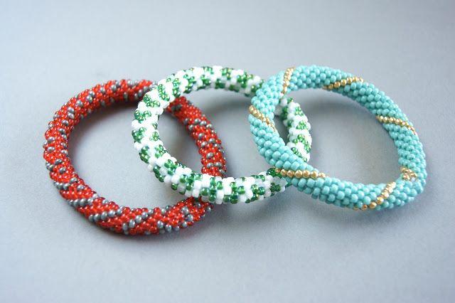 sew beading rope bracelets