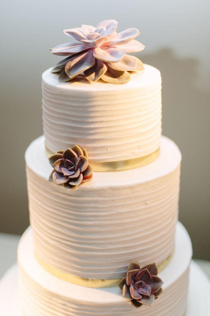 Echeveria cake