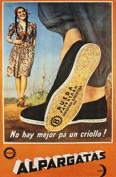 Alpargatas - This was my father's first job in Argentina!!! - Este fue el primer lugar que mi papa trabajo en Argentina!!!! - Alice