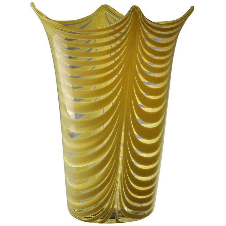 """Venini - Rare """"fenicio"""" Vase designed by Tyra Lundgren Circa. 1948 