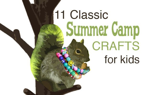 What crafts do you remember from your summer camp days? Here are 11 Classic summer camp crafts that you'll want to revive with your own kiddos. @FineArtsDayCamp