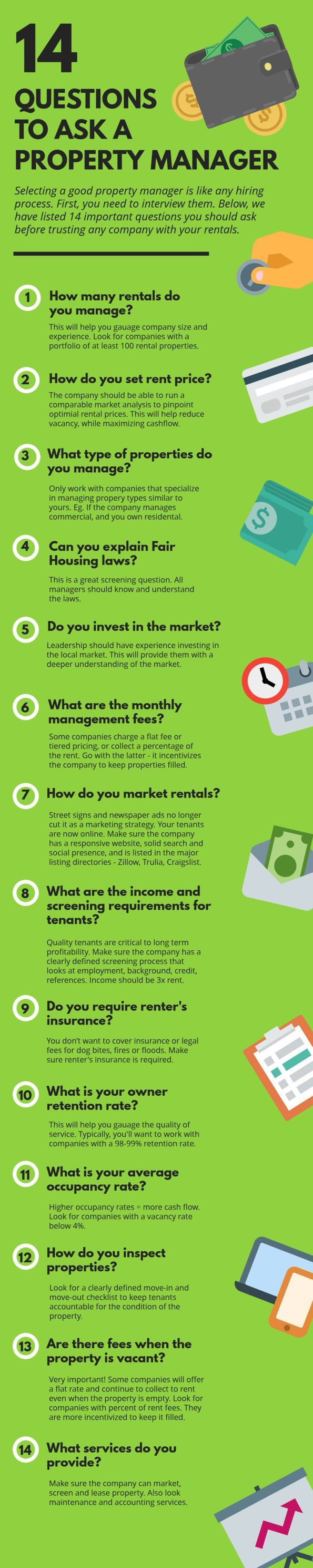 best ideas about property management rental questions to ask before hiring a property manager