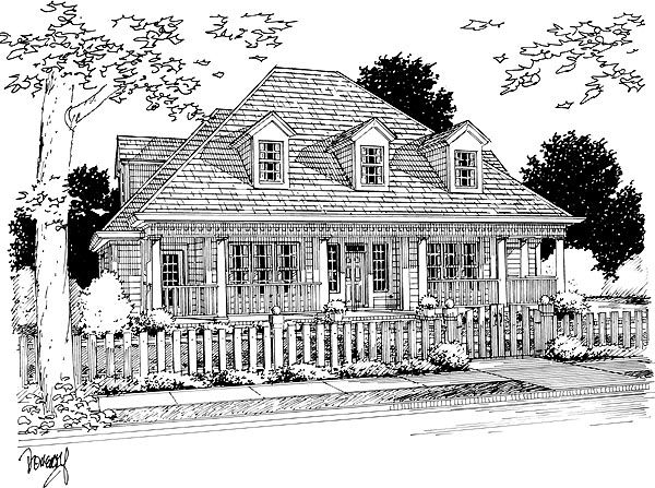 120 best images about fence and gate ideas on pinterest for French colonial house plans