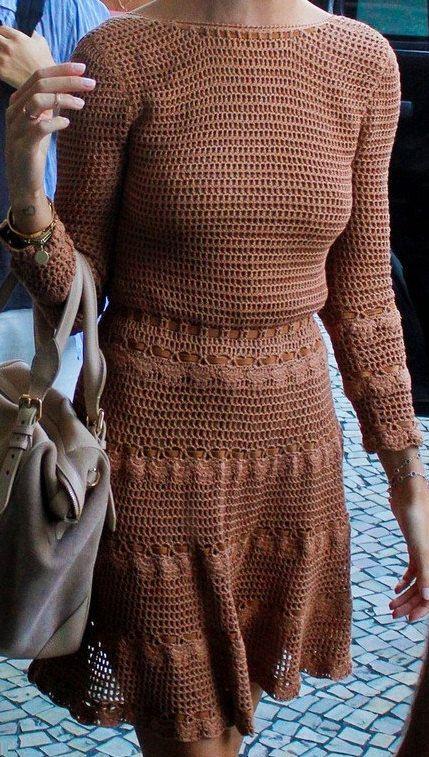 Uncinetto vestito personalizzato fatto, fatto a mano, all'uncinetto - cotone o lino on Etsy, 373,08€