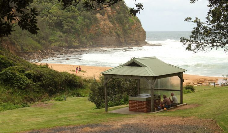 Wake up with the waves at Little Beach campground, near Gosford on the NSW…