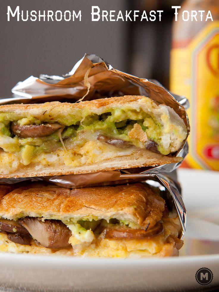 Breakfast Mushroom Torta | Recipe | Hot sauces, Sandwiches ...