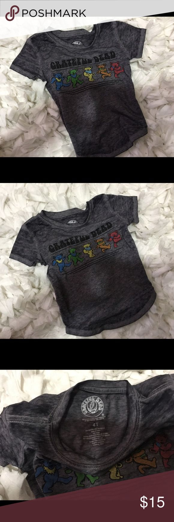 Baby kids Grateful Dead concert tee Like new, worn once!!!  4/4T.  Boy or girl. grateful dead Shirts & Tops Tees - Short Sleeve