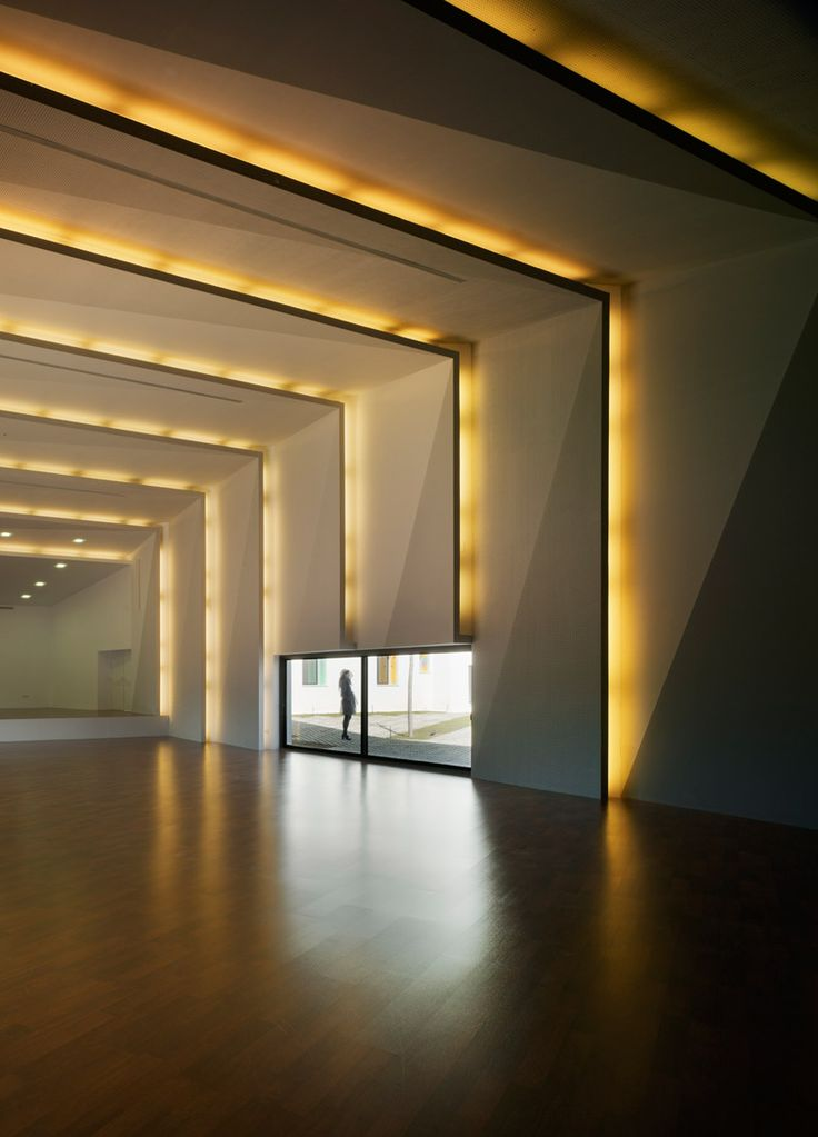 Music Hall and House in Algueña MUCA, Alicante, 2011 | #lighting #architecture