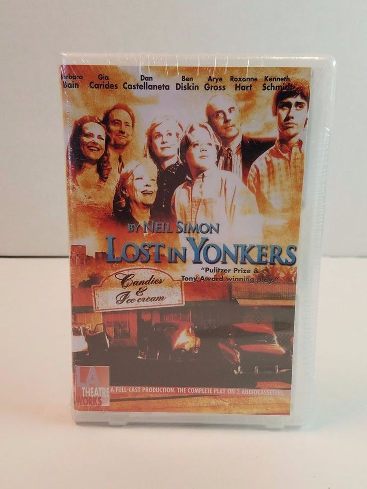 Lost in Yonkers Audio Cassette LA Theatre Works Play Neil Simon John Rubinstein