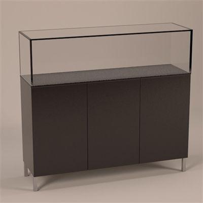 Glass Showcase Freestanding Display #michelepelafas