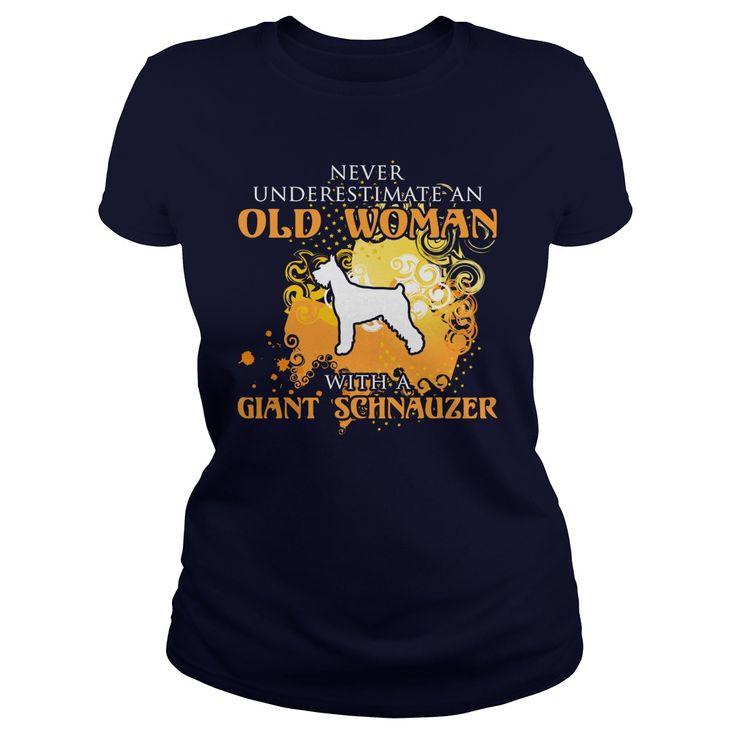 Giant Schnauzer Dog T-Shirts, Hoodies. GET IT ==► https://www.sunfrog.com/LifeStyle/Giant-Schnauzer-Dog-126524084-Navy-Blue-Ladies.html?id=41382