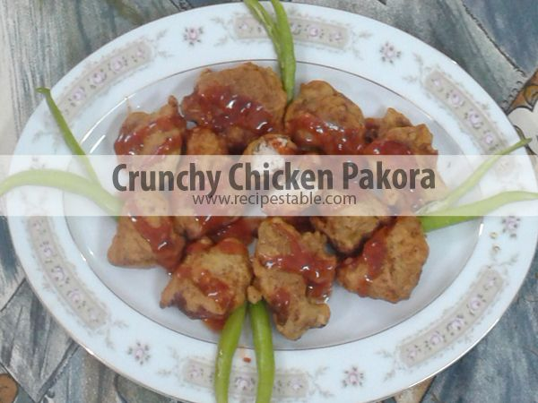 how to make chicken pakora recipe