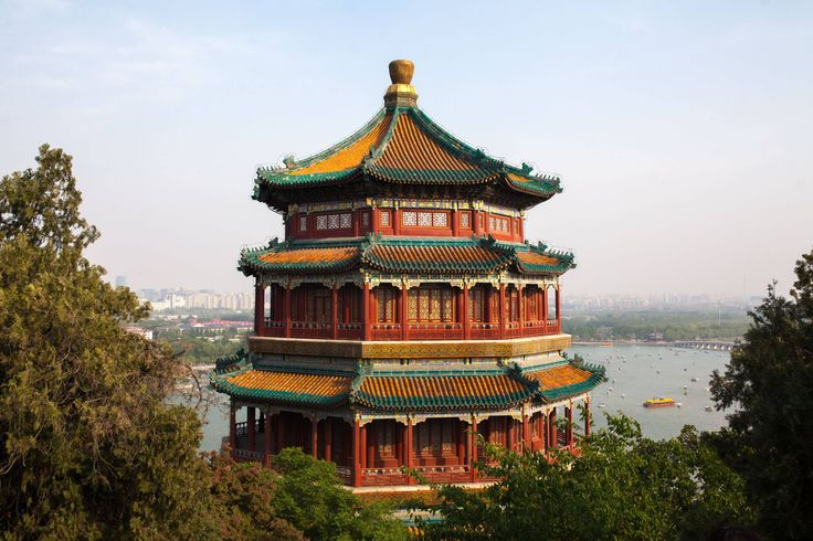 The Summer Palace (颐和园) in afternoon light - Beijing China [OC][3000x2000] - see http://www.classybro.com/ for more!