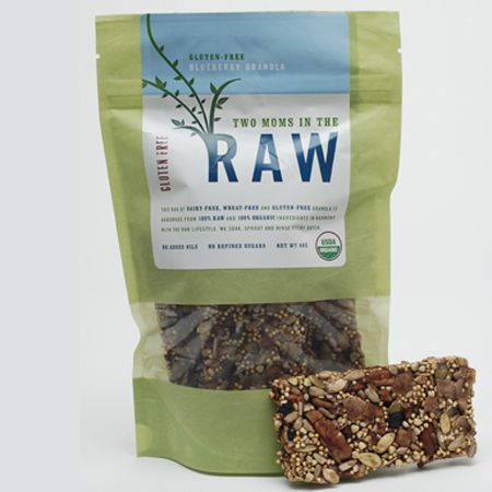 Healthy granola from #twomomsintheraw
