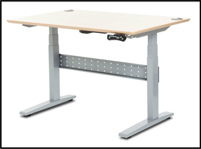 An Electronically Height Adjule Desk Geekdesk 2 Goes From To High With A Lifting Capacity Of While Max