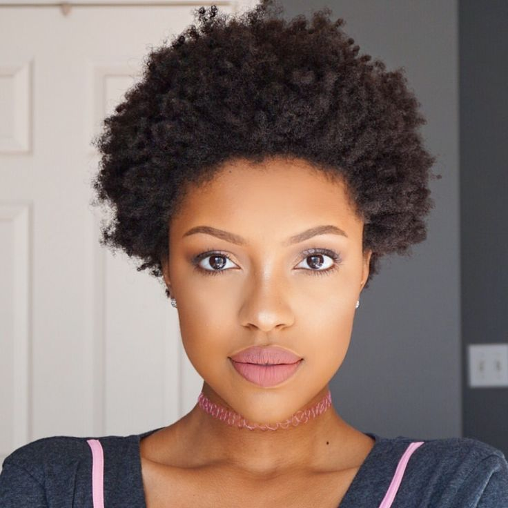 hairstyles natural tight curls