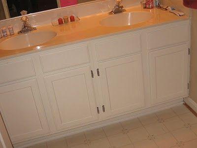 Generally Creative: Master Bathroom Vanity Redo