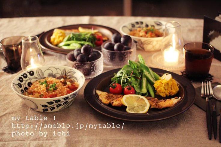 ブラパラとルスカ | my table !
