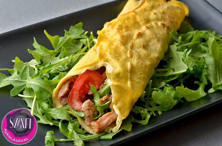 Paleo protein tortilla