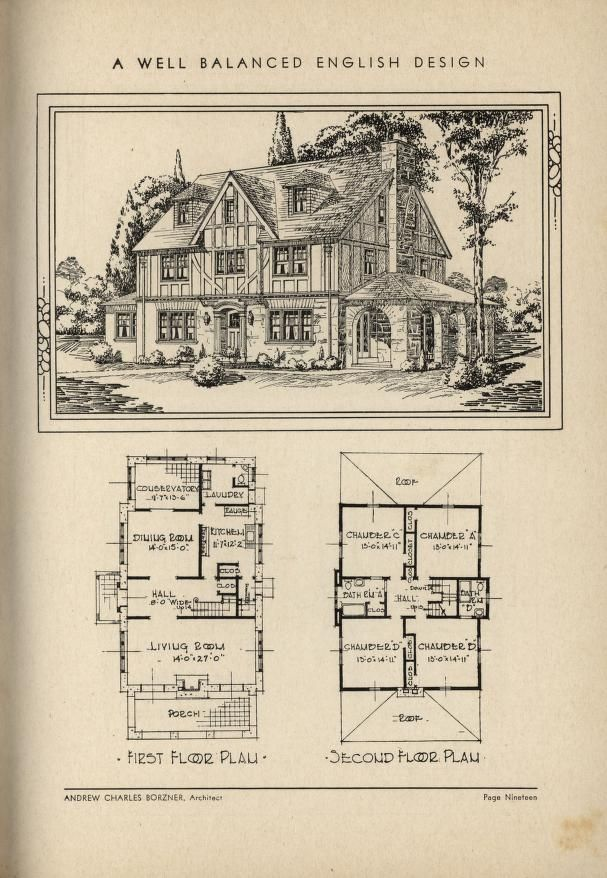 257 Best House Plans 1900 1930s Images On Pinterest