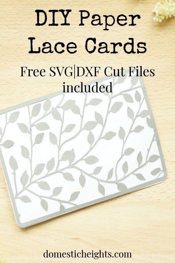 Paper Lace Handmade Cards Paper Lace Cards Handmade Cricut