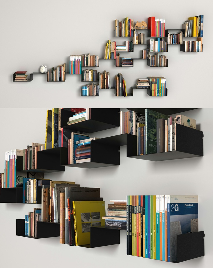 113 best Bookshelves Collection images on Pinterest | Bookshelves, Book  shelves and Bookcases
