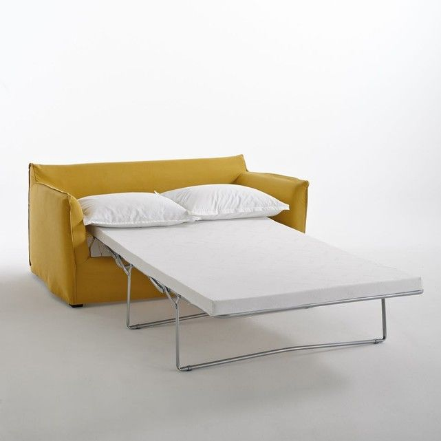 Romy Square Metal Coffee Table Am Pm: Canapé Convertible En Coton/lin, Odna, Bultex