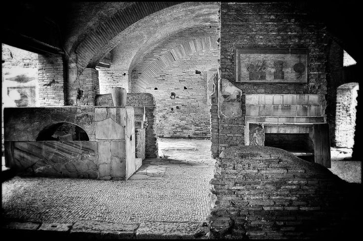 The Thermopolium, ancient inn