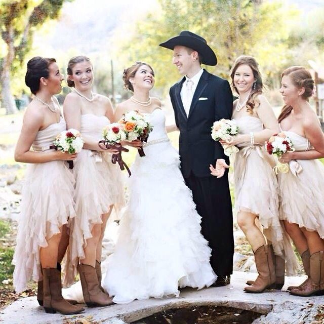 Wedding Dresses With Boots: 17 Best Ideas About Cowboy Wedding Dresses On Pinterest