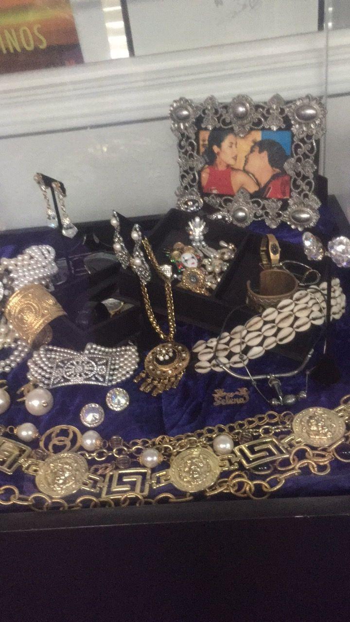 Selena Quintanilla jewelry Selena museum Q productions Corpus Christi Texas