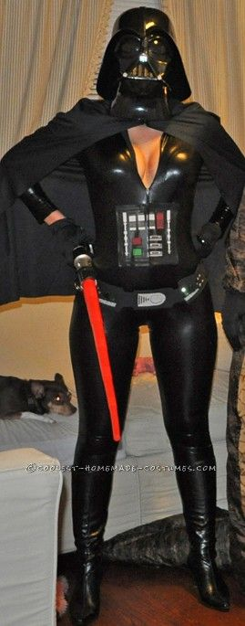 Coolest Darth Vader(ette) Costume for Women... This website is the Pinterest of costumes