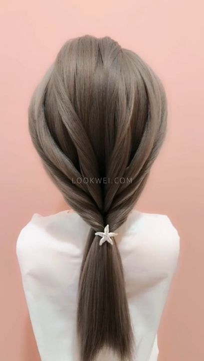 Today I want to share different low ponytail hairstyles.